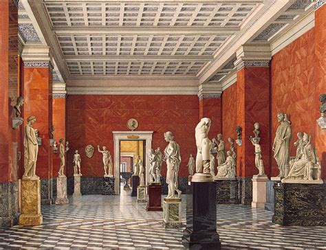 interiors    hermitage room  ancient greece