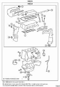 2009 Toyota Corolla Gasket Kit  Engine Overhaul