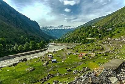 Pakistan Kaghan Valley Places Landforms Tourism Map