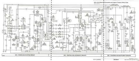 wiring diagram for deere x540