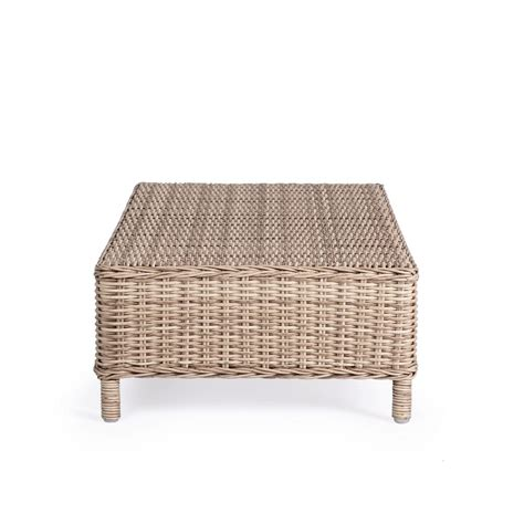 tavolino da giardino tavolino da esterno in rattan aditya brigros