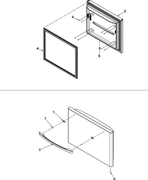amana fridge model abbdes   handle