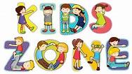 Children on kids zone symbol 432677 Vector Art at Vecteezy