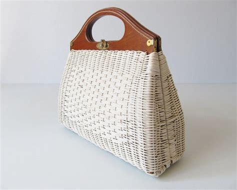 wicker handbags images  pinterest rattan