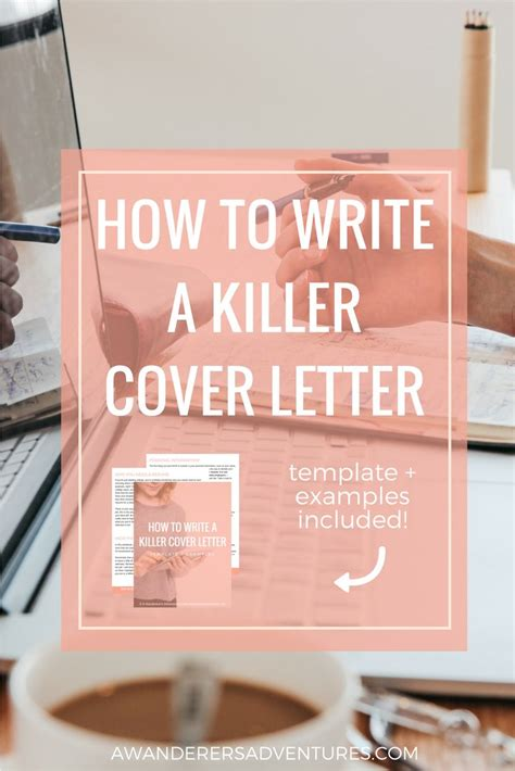 cover letter template ideas  pinterest cover