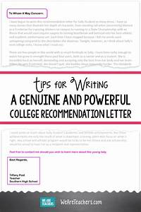 letter of recommendation for elementary student tips for writing a college recommendation letter