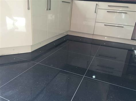 Kitchen Floor Tiling With Receiver Surface Preparing Hq