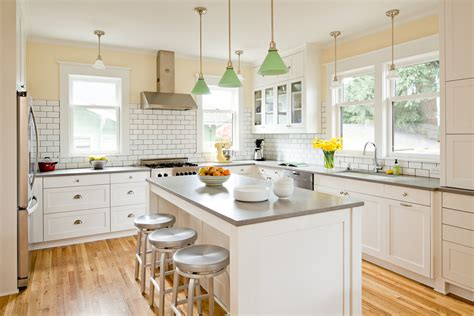 white kitchen cabinets with grey countertops una selecci 243 n de hermosas cocinas comedor 2080
