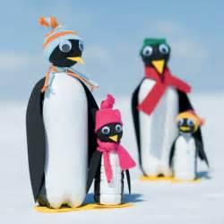 Soda-Bottle Penguin Craft