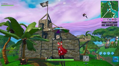 fortnite week  challenges visit  pirate camps