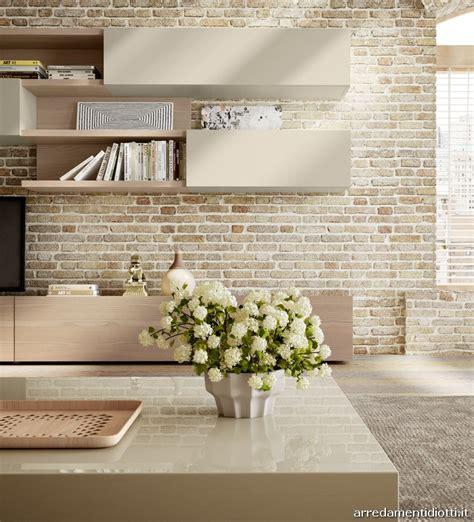 Nel soggiorno il legno diventa un elemento flessibile