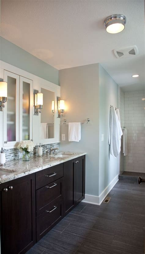 colored bathroom cabinets the floor mirror walls and vanities on
