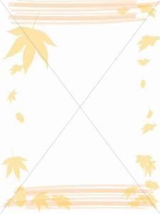 Elegant Fall Leaves Border   Fall Borders