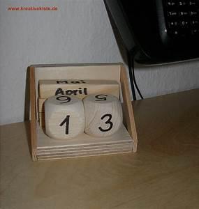 Kalender Selber Basteln : ewiger kalender ~ Lizthompson.info Haus und Dekorationen