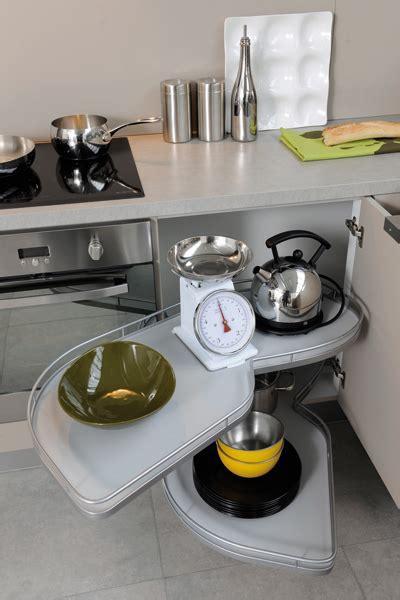 meuble cuisine cuisinella des rangements malins pour une cuisine pratique