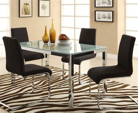 Glass Top Dining Room Sets Marceladickcom
