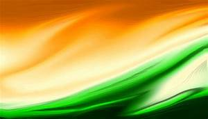 Indian, Flag, Tricolor, Painted, With, Fluid, Art, Texture, As