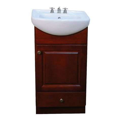 Find all bathroom vanities at wayfair. Petite 18-inch Wood Dark Cherry Bathroom Vanity | eBay
