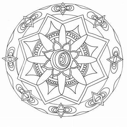 Coloring Stoner Mandala Pages Adult Printable Stoners