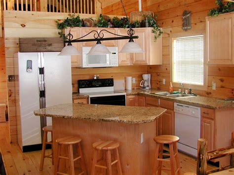 small kitchen and dining room spaces with oak wall - Oak Cabinet Kitchen Ideas