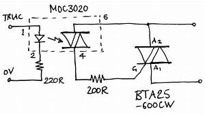 triac power control With triac circuit