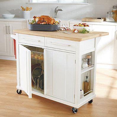 kitchen cart im  love real simple kitchen