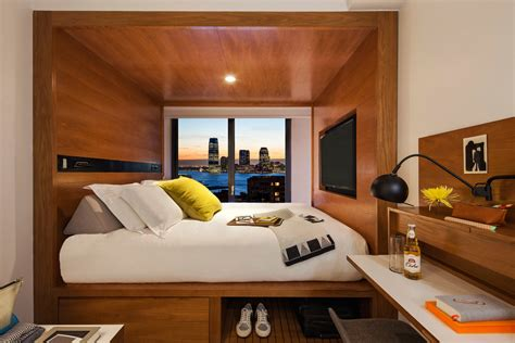 getting creative with small hotel rooms the new york times
