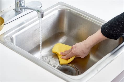 how to clean stainless steel kitchen sink how to polish a stainless steel sink with flour kitchn