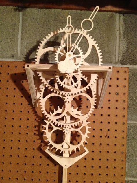 pdf diy clock plans woodworking wooden gear clock by natrone lumberjocks