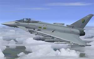 Raf Eurofighter Demo  3 Sqn For Fsx