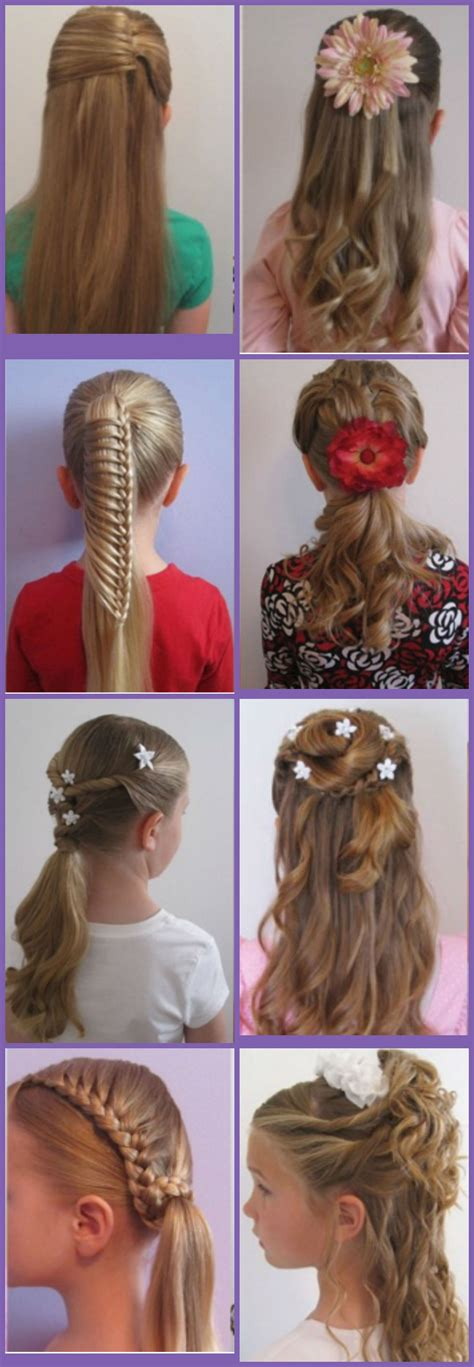 easy style for hair simple hairstyle for hairstyles for school 5720