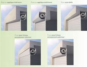 porte de garage enroulable castellane profalux pro With porte de garage enroulable et porte interieur thermique
