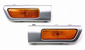 North American Bumper Side Marker Light Trim Molding 99
