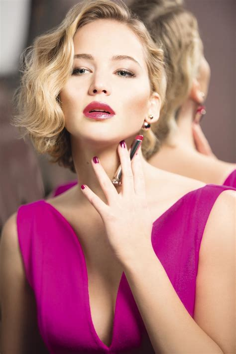 Dior Addict The New Lipstick Starring Jennifer Lawrence