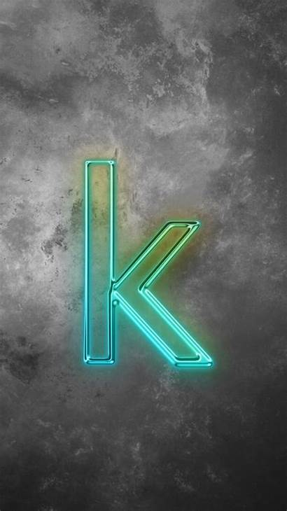 Letter Neon Wallpapers Phone Signs Photoshop
