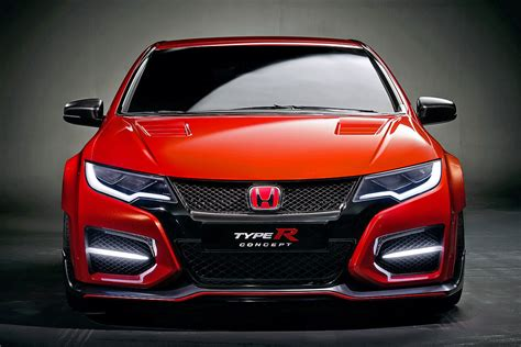 Honda Civic Type R Concept Genfer Autosalon 2018 Bilder