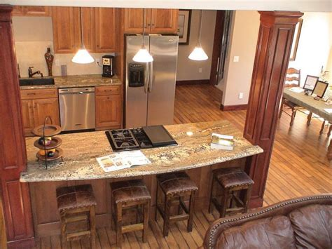 Kitchen Counter Add On by Open Kitchen Add Island With Existing Load Bearing Wall