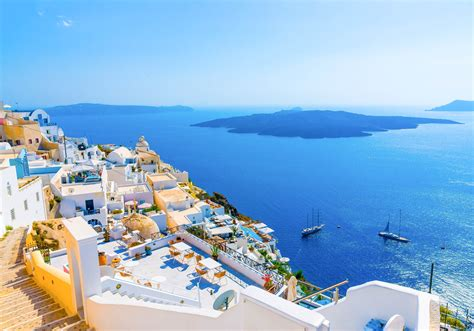 santorini amazing hd wallpapers high resolution  hd