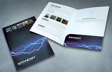 Brochure Printing Services Folders Leaflets Andrew Burdett Design Folder Design Company Peak
