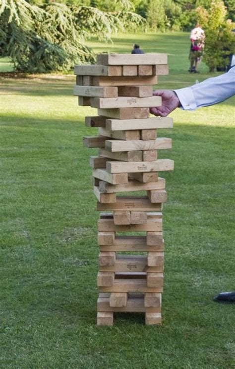 outdoor giant jenga outdoor games pinterest giant