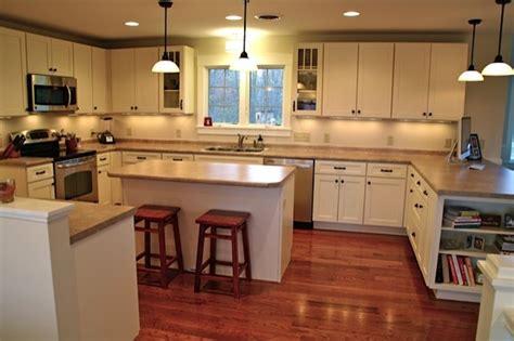 kitchen cabinets oak small shaker style kitchens interior design ideas 3133