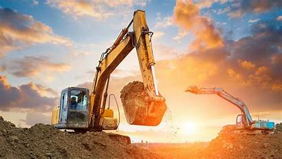 Excavator Hydraulic Equipment Bearings Many There Construction