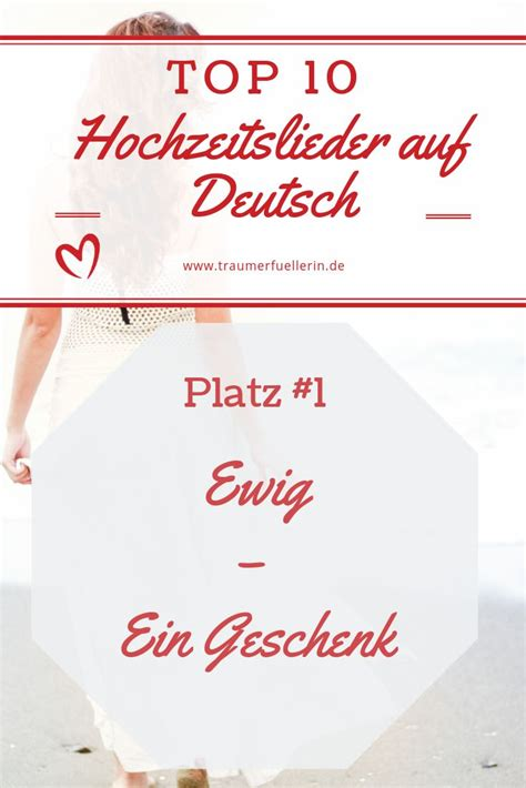 top  der schoensten deutschen lieder zur hochzeit