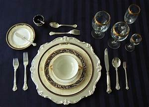 Rules of civility dinner etiquette formal dining for Formal table setting