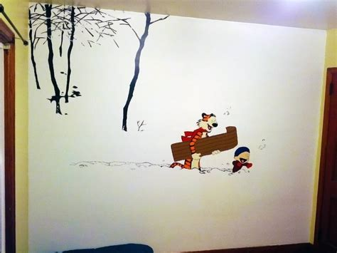 Calvin And Hobbes Wall Art Elitflat