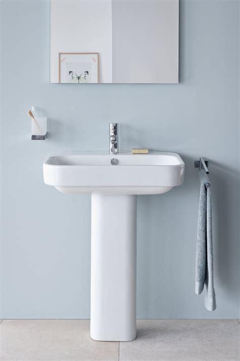 happy d 2 washbasin pedestal by duravit italia design