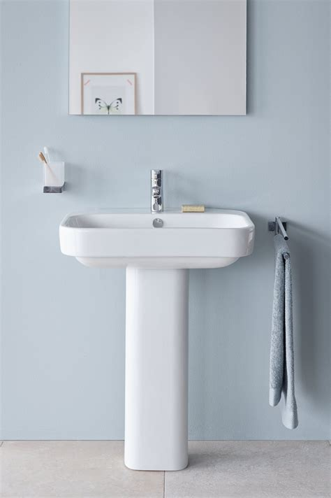 white wash dining room modern pedestal sink with towel bar homesfeed
