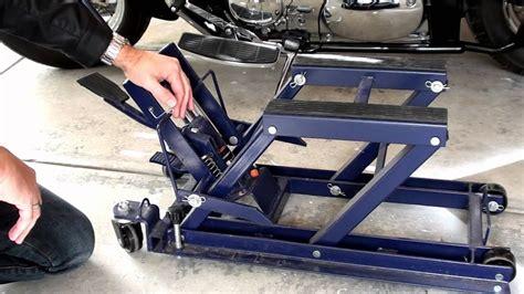 Hydraulic Motorcycle Jack