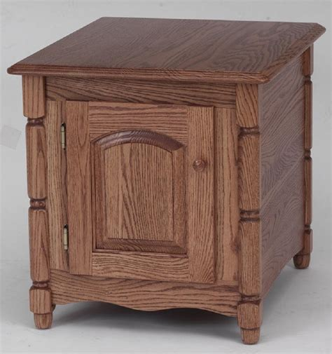 country style table ls solid oak country style storage end table 21 quot x 25