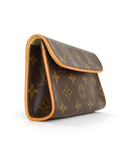 louis vuitton monogram pochette florentine belt bag  box  stdibs